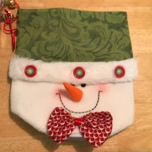Other - Snowman Bag/stocking and box